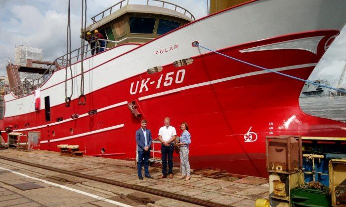 UK150 trawler