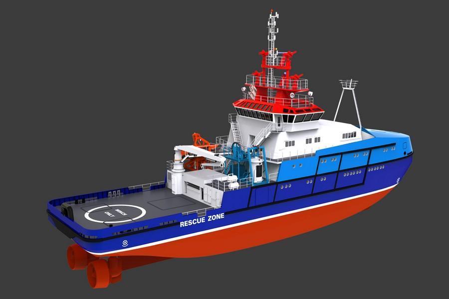 NP107 workboat 2