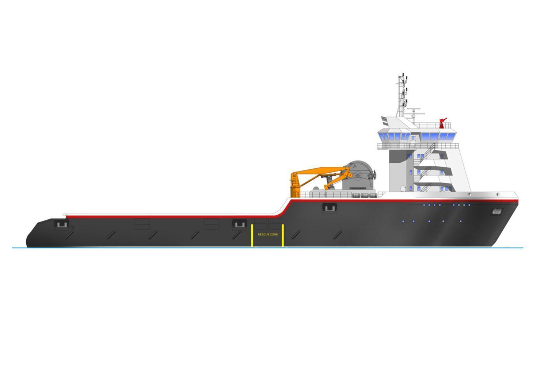 NP204 offshore vessel