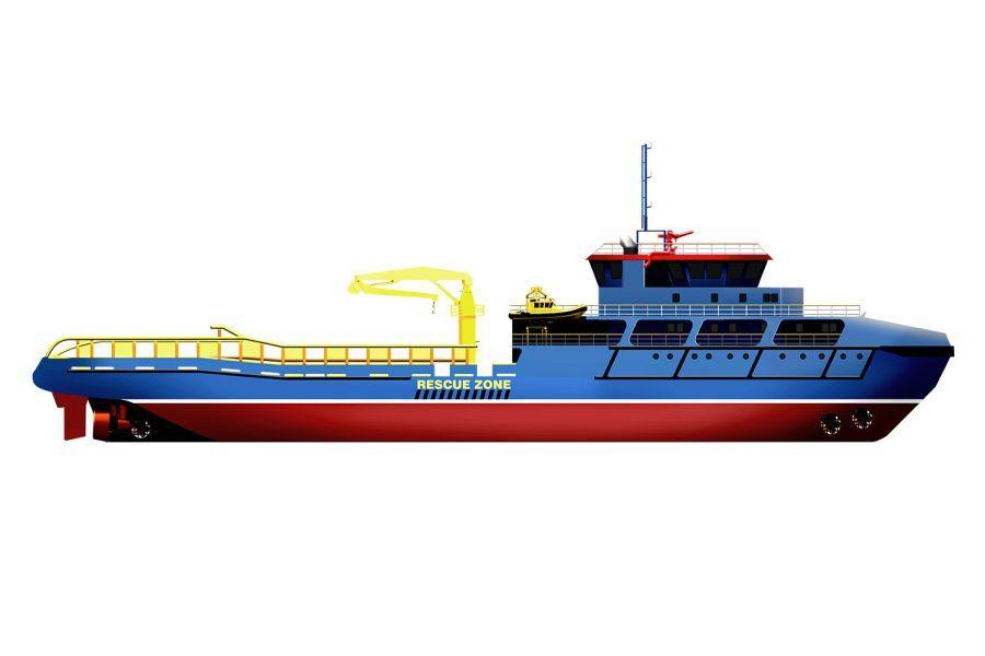 NP210 offshore vessel 1