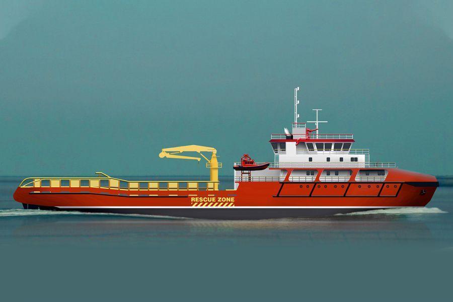 NP210 offshore vessel 2