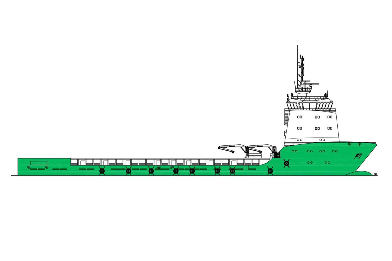 NP217 offshore vessel