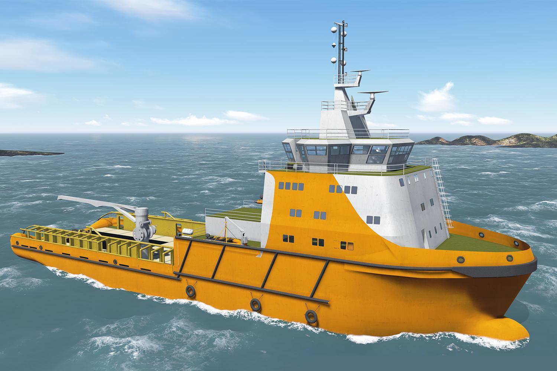 NP219 offshore vessel