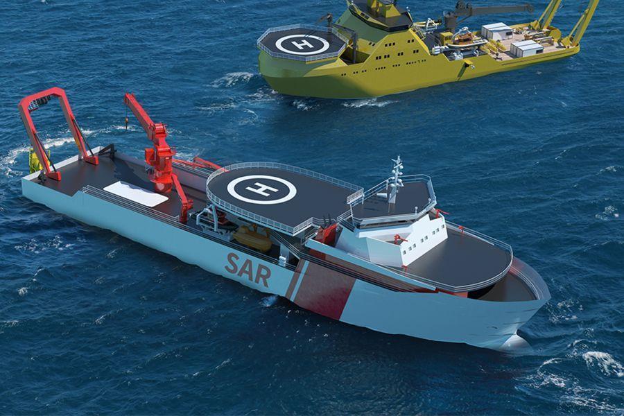 rescue vessel 283
