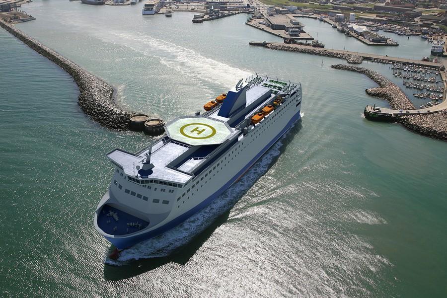 140 Ropax ferry 1