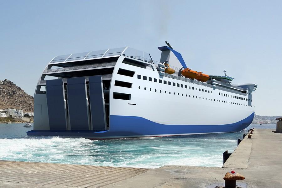 140 Ropax ferry 2